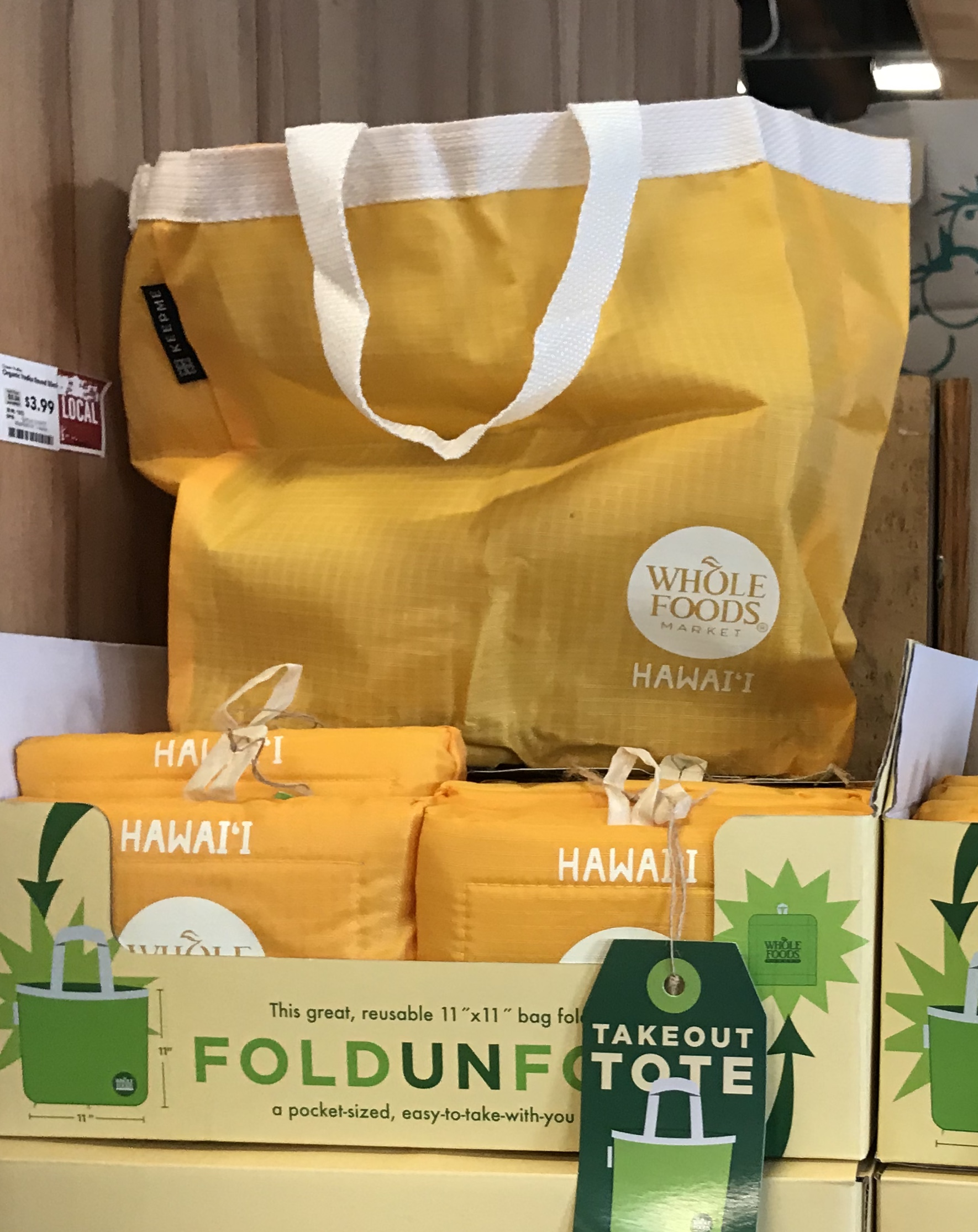 HAWAII WHOLE FOODS MARKET 限定エコ・トートバッグ